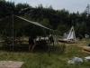 Stavění tábora 2004