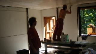 Oprava klubovny 2010