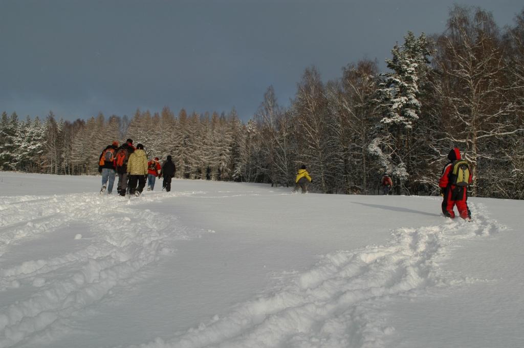 Výprava ke krmelcům 2010